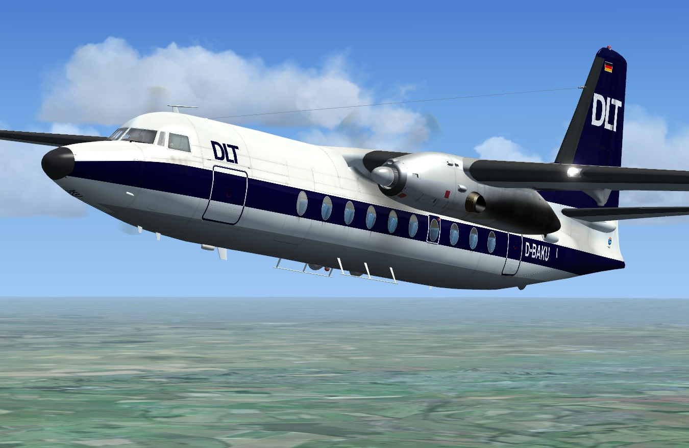 JUSTFLIGHT - FOKKER F27 FRIENDSHIP 100/200/300
